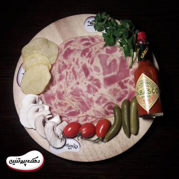 ژامبون گوشت گوساله