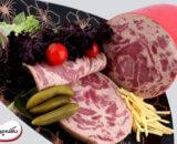 سوسیس گوشت گوساله دهکده پروتئین