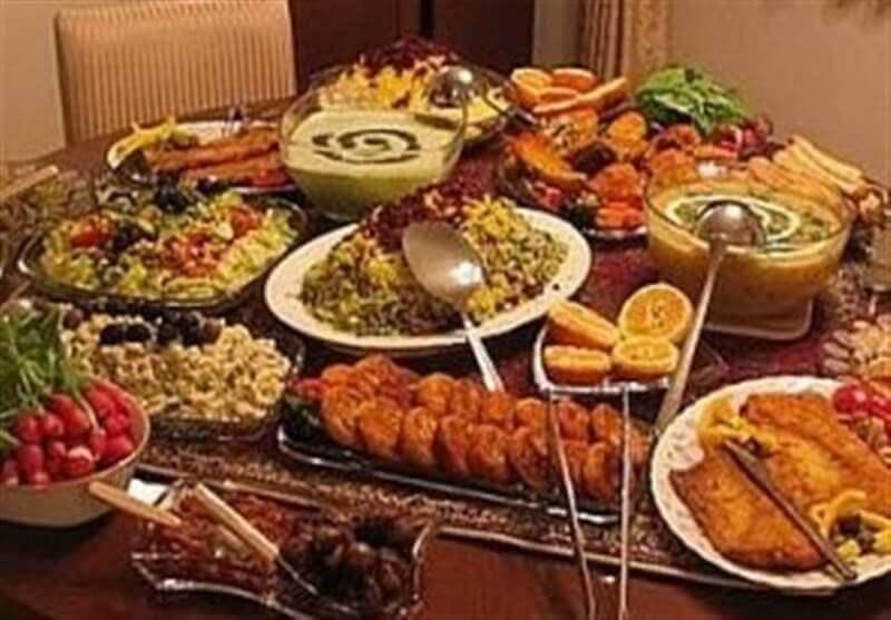 ایده غذا برای پاگشای عروس و داماد
