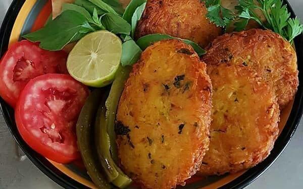 غذای ساده و خوشمزه با سیب زمینی آب پز