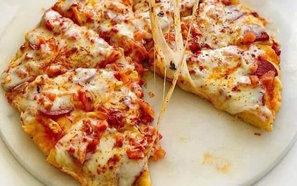 جلوگیری از خشک شدن پیتزا