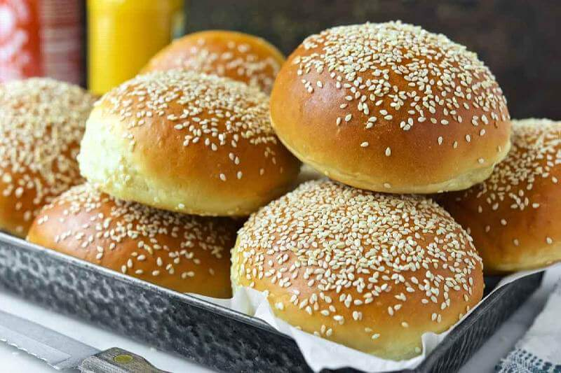 دستور پخت نان همبرگر