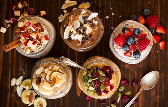 صبحانه لاکچری و خوشمزه